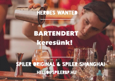 Bartendert keresünk!