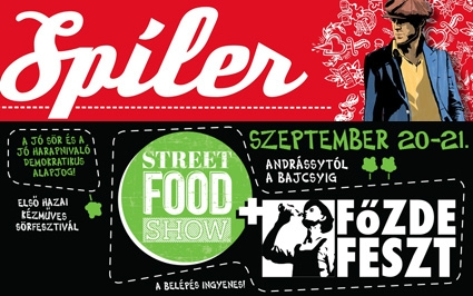 Spíler birthday at the Street Food Show